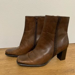 St John's Bay Leather Ankle Boots